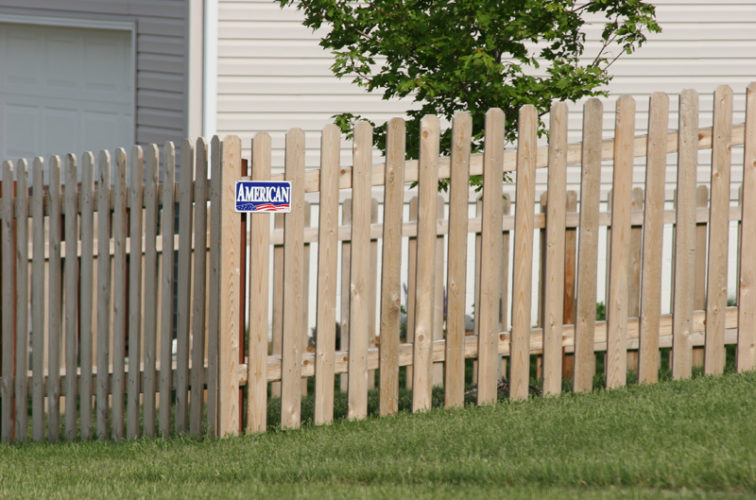 AFC Iowa City - Wood Fencing, 1004 4' picket