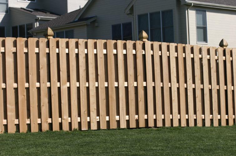 AFC Iowa City - Wood Fencing, 1007 6' board on board