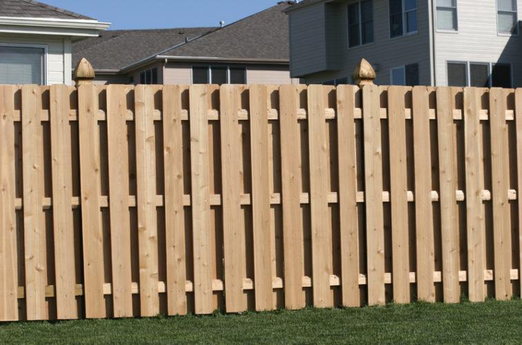 AFC Iowa City - Wood Fencing, 1008 6' board on board
