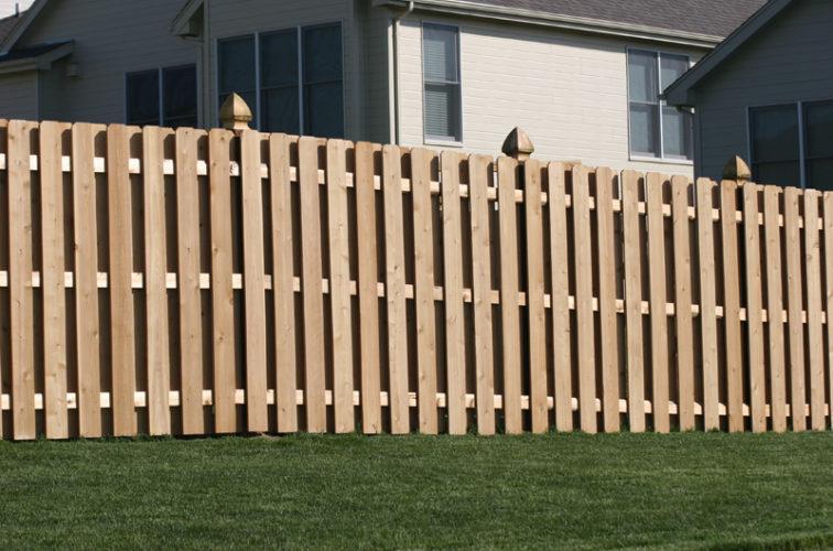 AFC Iowa City - Wood Fencing, 1009 6' board on board