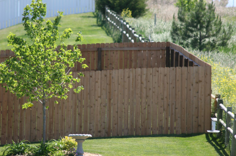 AFC Iowa City - Wood Fencing, 1021 6' Solid Privacy