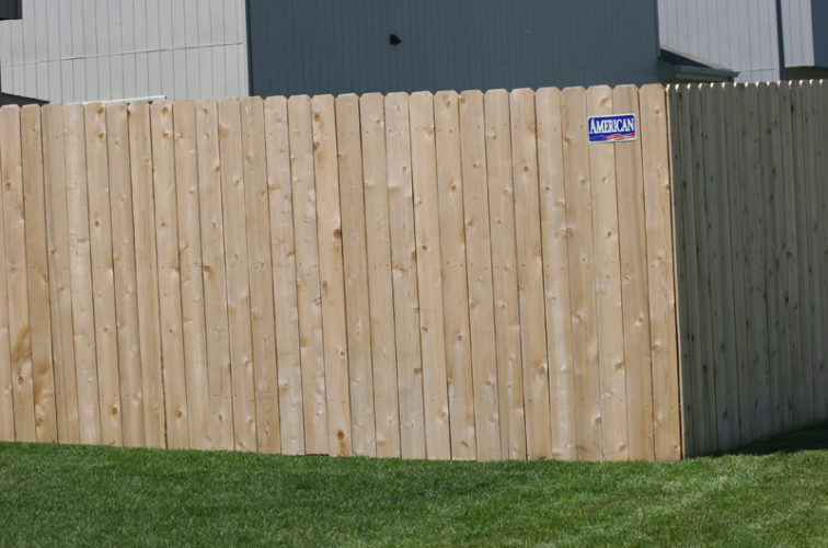 AFC Iowa City - Wood Fencing, 1023 6' solid privacy