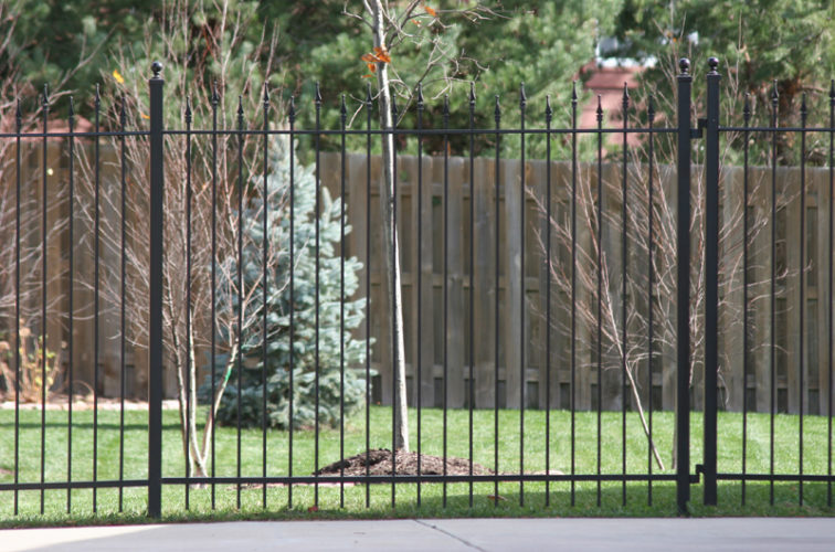 AFC Iowa City - Custom Iron Gate Fencing,1202 Alternating Picket Ornamental Iron Photo