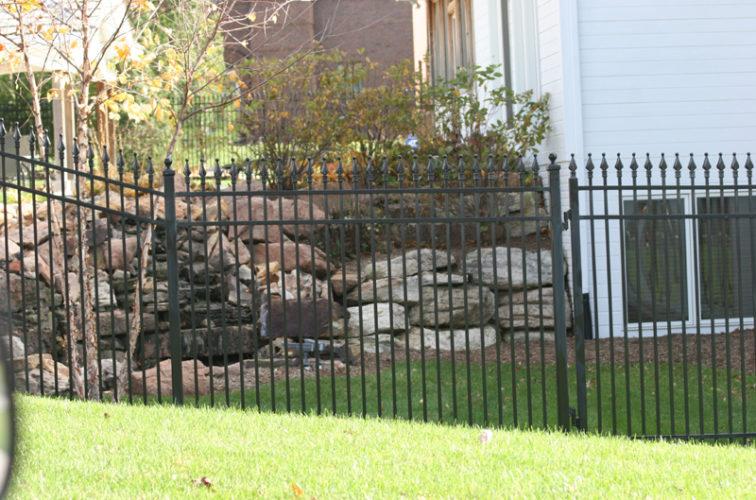 AFC Iowa City - Custom Iron Gate Fencing, 1208 Classic Quad Flare Ornamental Iron