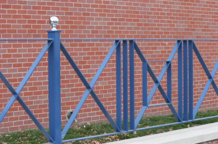 AFC Iowa City - Custom Iron Gate Fencing, 1242 Potter Steet 2