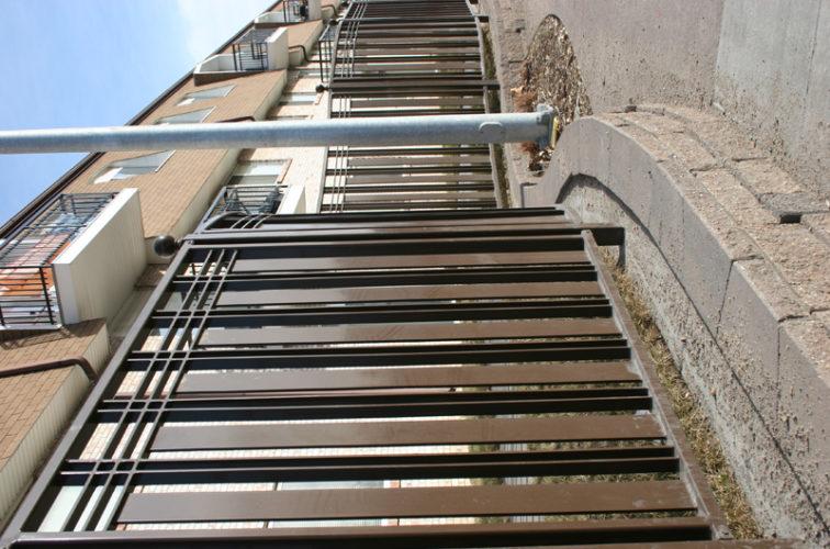 AFC Iowa City - Custom Iron Gate Fencing, 1246 Checker Board Fence