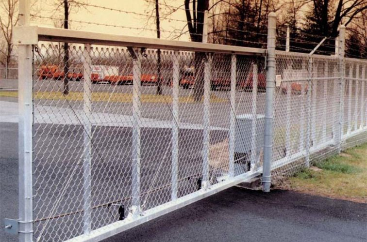 AFC Iowa City - Custom Gates, 2107 TyMetal Heavy Duty Aluminum Slide Gate