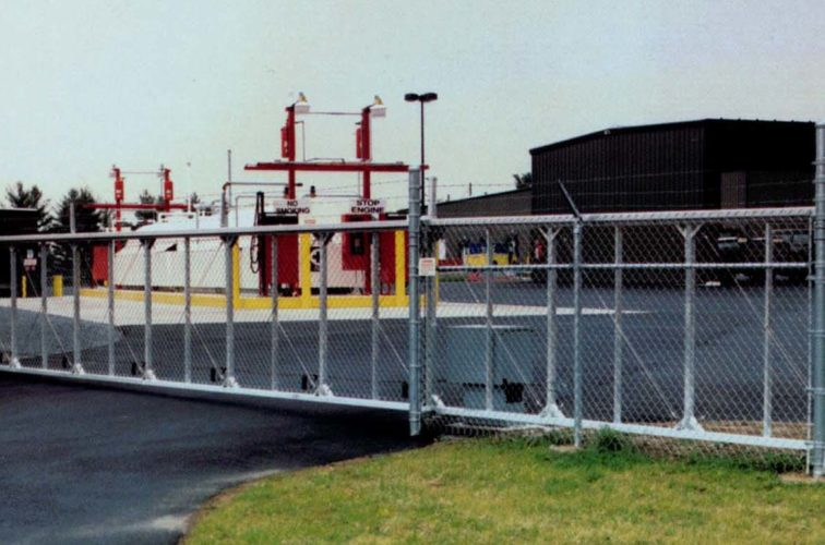 AFC Iowa City - Custom Gates, 2108TyMetal Aluminum Structural Slide Gate