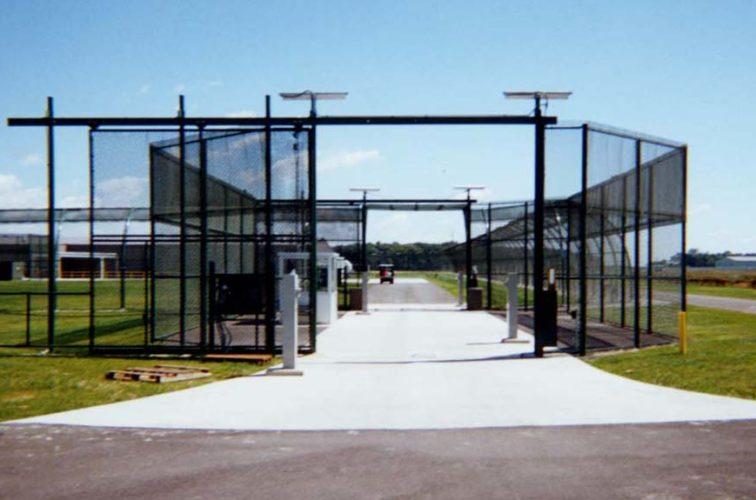 AFC Iowa City - Custom Gates, Estate Telephone Entry, 2110 TyMetal Plus Gate at Prison Sallyport