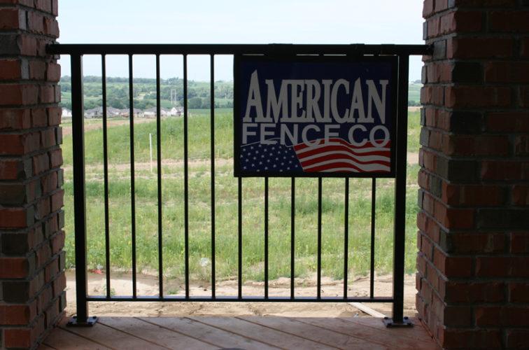 AFC Iowa City - Custom Railing, 2212 Deck Railing