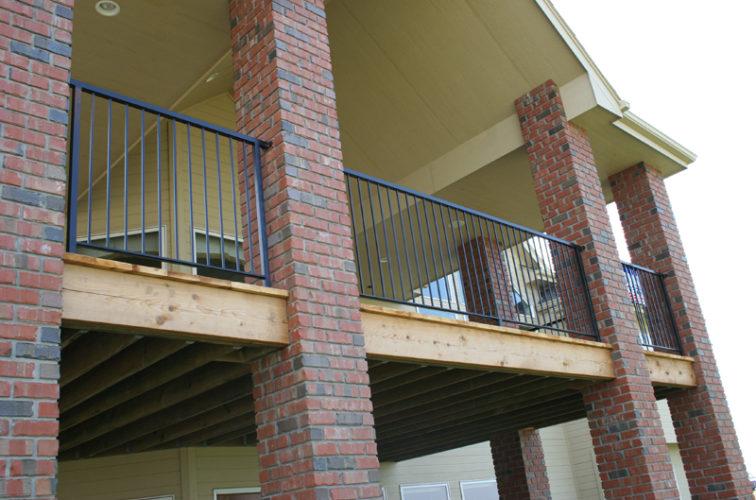 AFC Iowa City - Custom Railing, 2213 Deck Railing