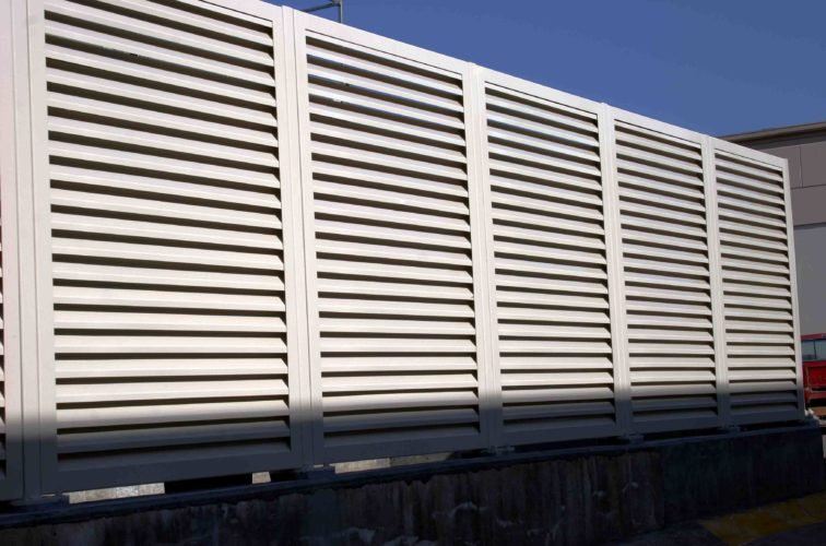 AFC Iowa City - Louvered Fence Systems Fencing, 2223 Louvered Fence
