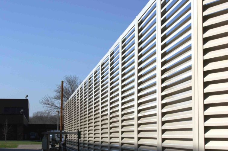 AFC Iowa City - Louvered Fence Systems Fencing, 2224 Louvered Fence