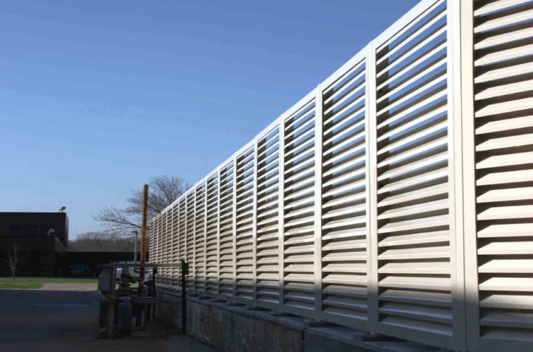 AFC Iowa City - Louvered Fence Systems Fencing, 2224-Louvered-Fence-Web