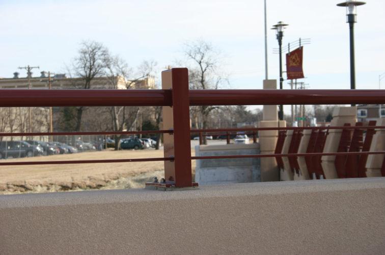 AFC Iowa City - Custom Railing, 2225 Knee Wall Railing