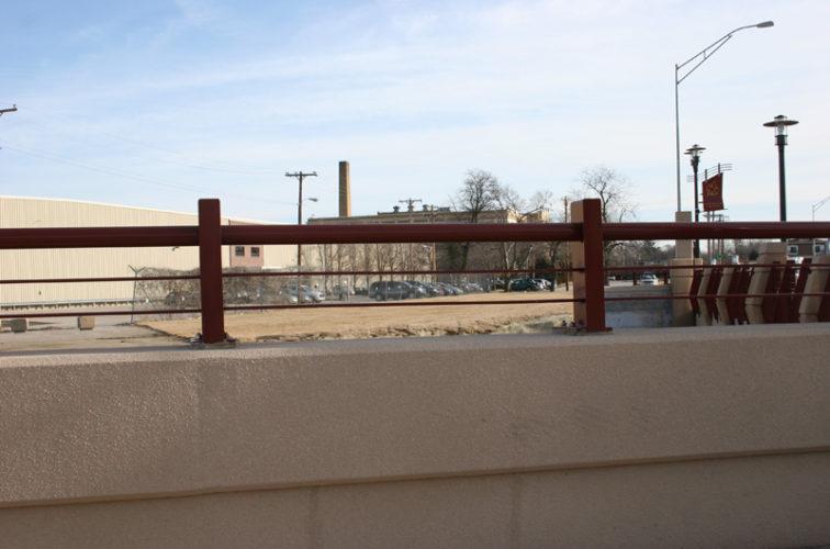 AFC Iowa City - Custom Railing, 2226 Knee Wall Railing