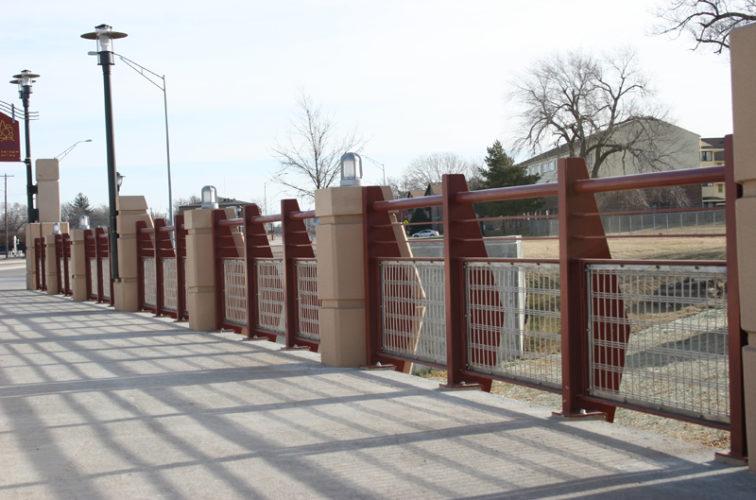 AFC Iowa City - Custom Railing, 2227 Stainless Steel In-fill Railing