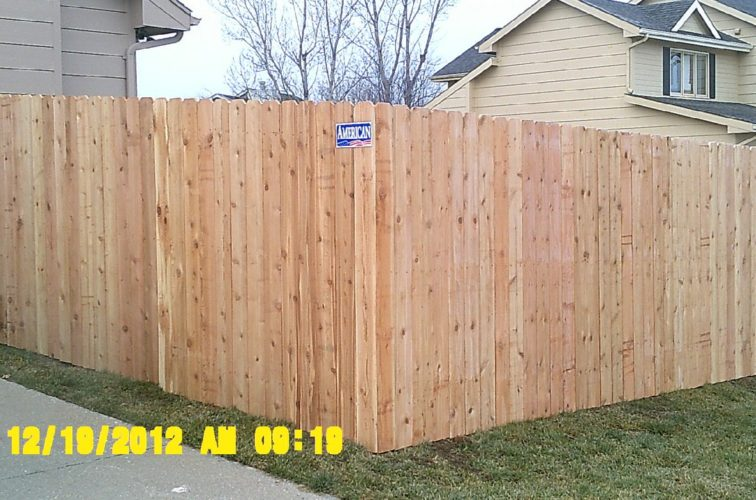 AFC Iowa City - Wood Fencing, 6' Wood Privacy - AFC - IA
