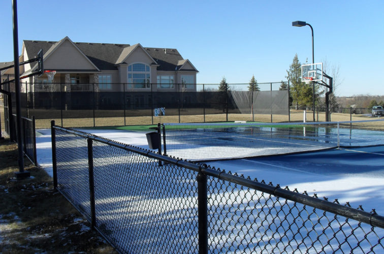 AFC Iowa City - Sports Fencing, BVCL Tennis Court