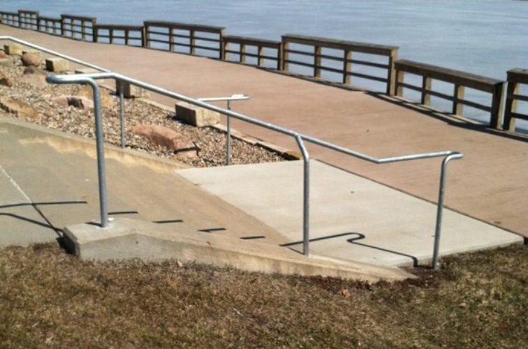 AFC Iowa City - Custom Railing, Custom Galvanized Handrail - AFC - IA