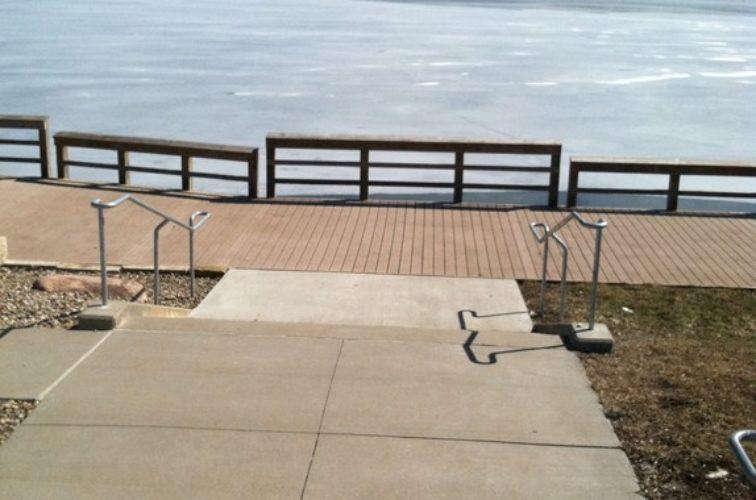 AFC Iowa City - Custom Railing,Custom Galvanized Handrail 2 - AFC - IA