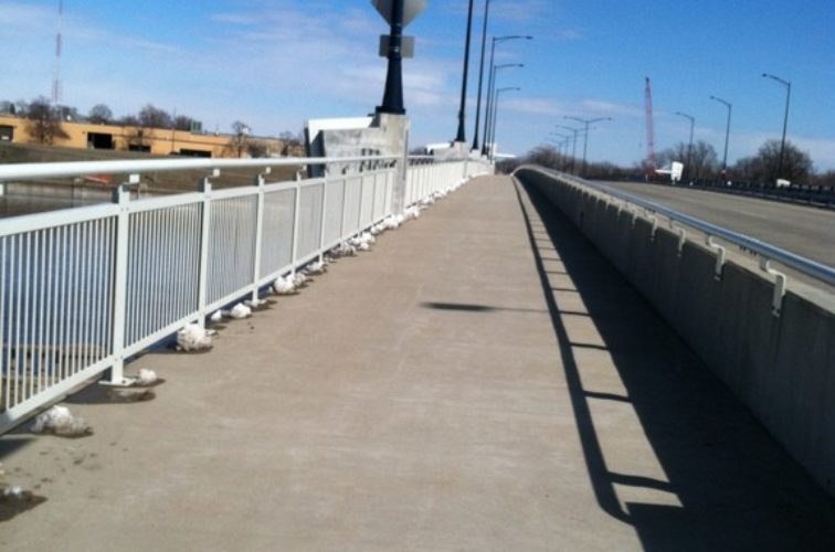 AFC Iowa City - Custom Railing, Custom Ornamental Railing 4 - AFC - IA