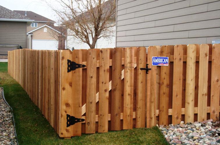 AFC Iowa City - Wood Fencing, Cedar Board on Board, AFC, SD