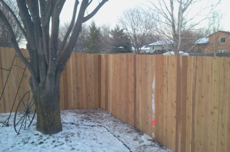 AFC Iowa City - Wood Fencing, Cedar Privacy 03 AFC, SD