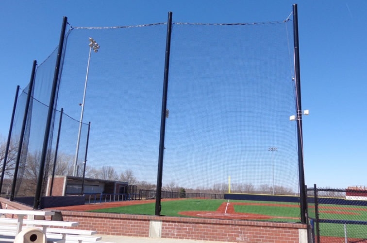 AFC Iowa City - Sports Fencing, Commercial - Backstop - AFC-KC
