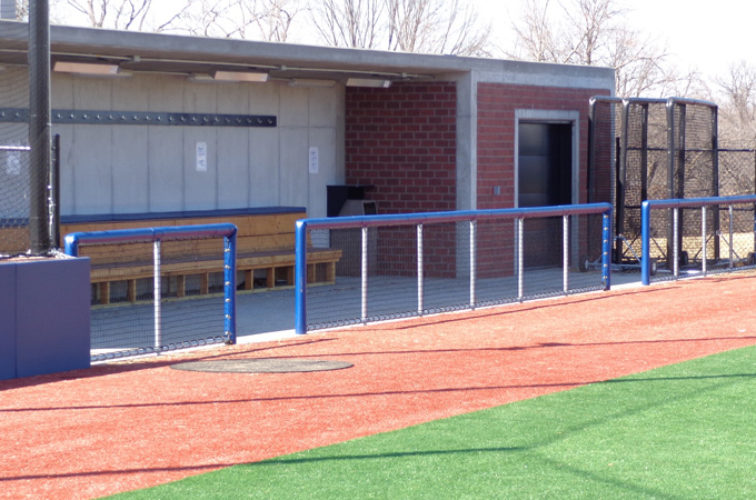 AFC Iowa City - Sports Fencing, Commercial - Railing - AFC-KC