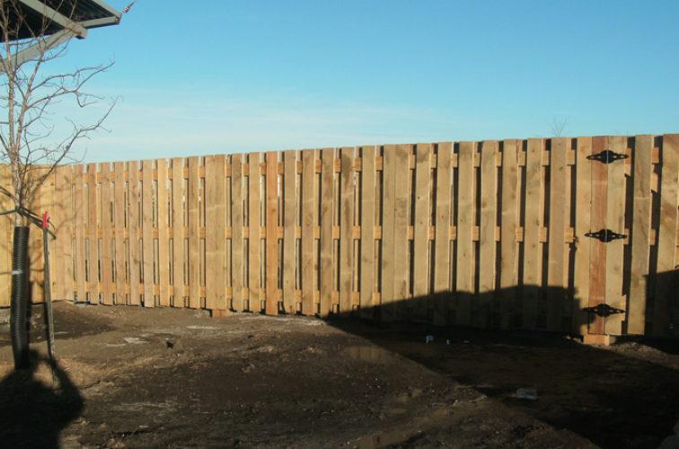 AFC Iowa City - Wood Fencing, Custom Board on Board - AFC - SD