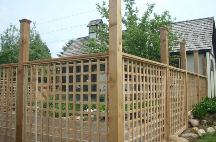 AFC Iowa City - Wood Fencing, Custom Garden Fence 2 AFC, SD