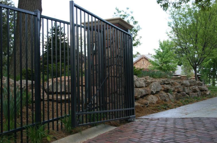 AFC Iowa City - Custom Gates, Estate Double Drive Gate