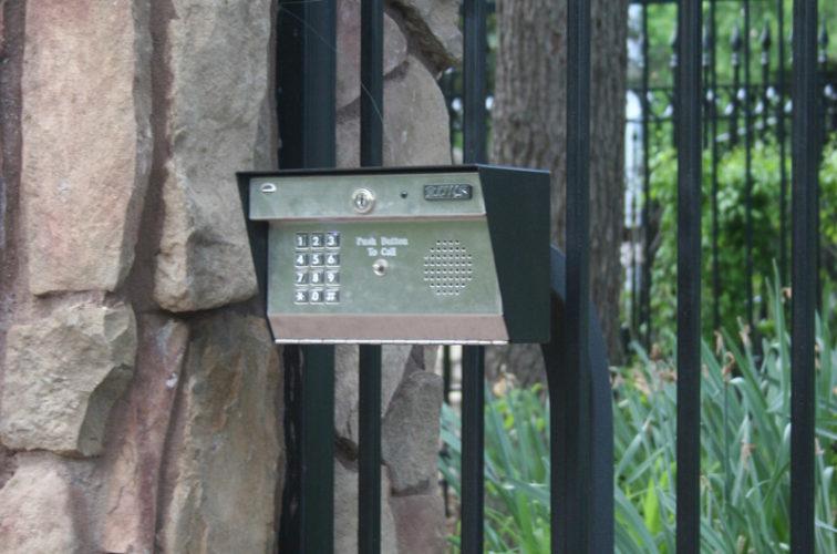 AFC Iowa City - Custom Gates, Estate Telephone Entry