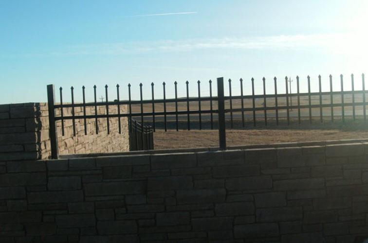 AFC Iowa City - Custom Iron Gate Fencing