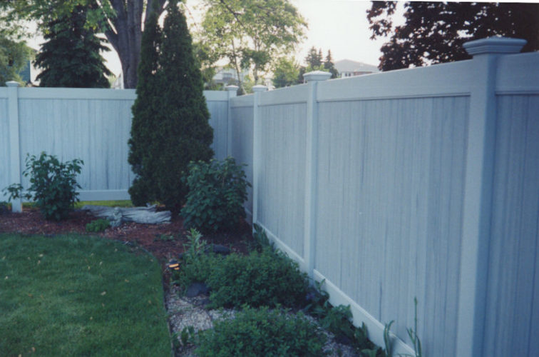 AFC Iowa City - Vinyl Fencing, Greystone Privacy (615)