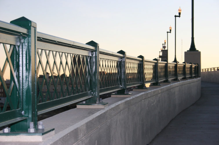 AFC Iowa City - Custom Railing