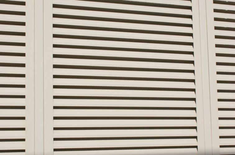 AFC Iowa City - Louvered Fence Systems Fencing, Louvered Fence Panel