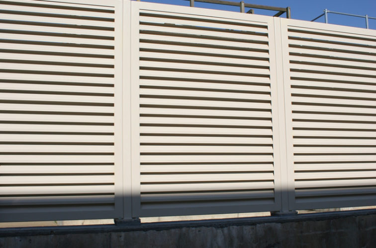 AFC Iowa City - Louvered Fence Systems Fencing, Louvered Fence System