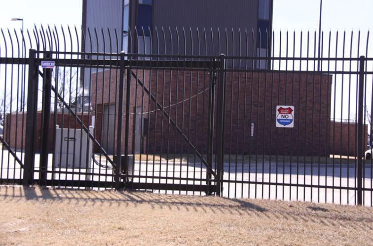 AFC Iowa City - Custom Gates, Ornamental Slide Gate (2)