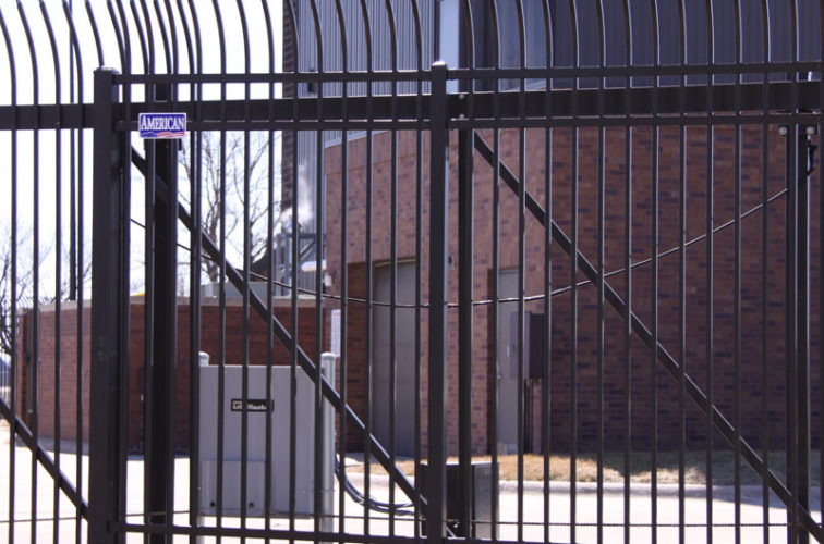 AFC Iowa City - Custom Gates, Ornamental Slide Gate