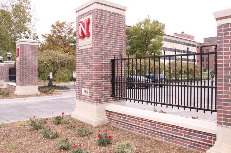 AFC Iowa City - Custom Iron Gate Fencing, UNL #3