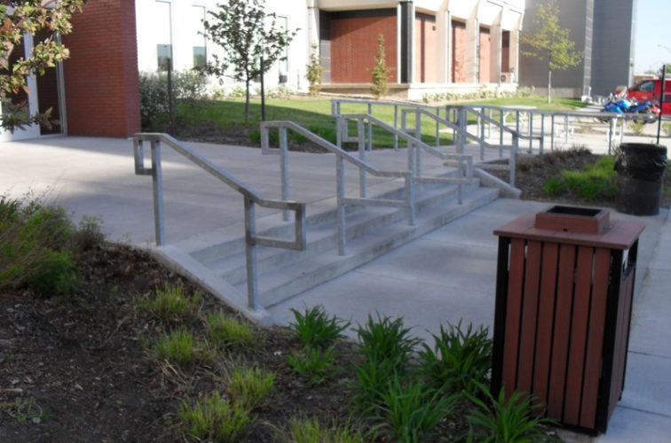 AFC Iowa City - Custom Railing, UNL Handrail