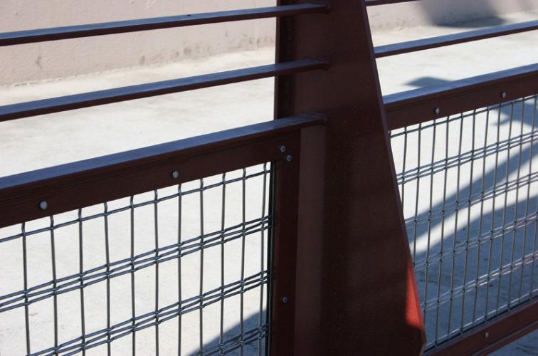 AFC Iowa City - Custom Railing, Vine 1