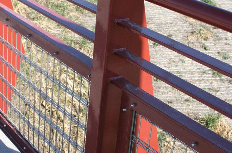 AFC Iowa City - Custom Railing, Vine 15