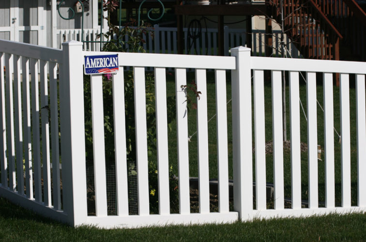 AFC Iowa City - Vinyl Fencing, 4' closed rail picket 585