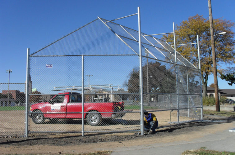 AFC Iowa City - Sports Fencing, Backstop