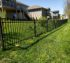 American Fence Company of Iowa City - 4' Ornamental Wrought Iron Fence