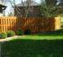American Fence Company of Iowa City - 6' Cedar Wood Fence Shadow Box
