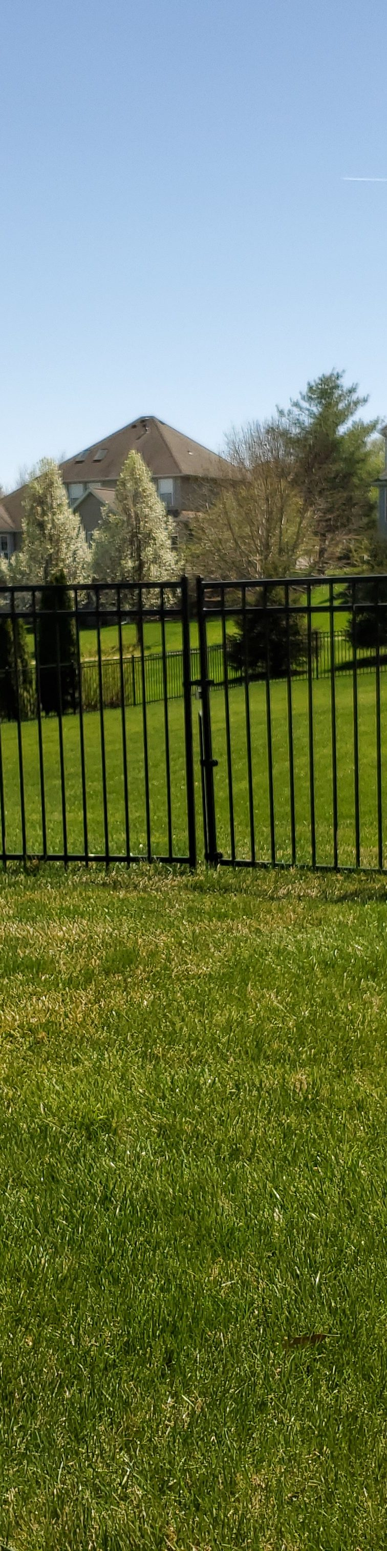 American Fence Company of Iowa City - 6' Wrought Iron Fence